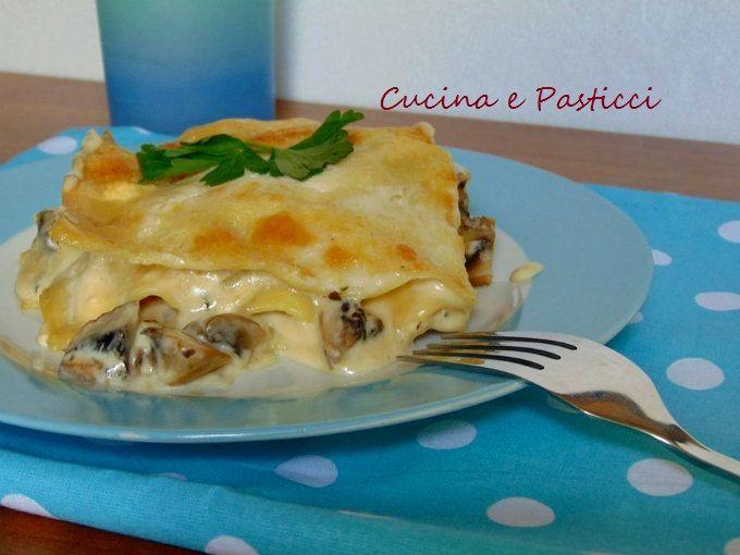 Lasagne ai funghi champignon