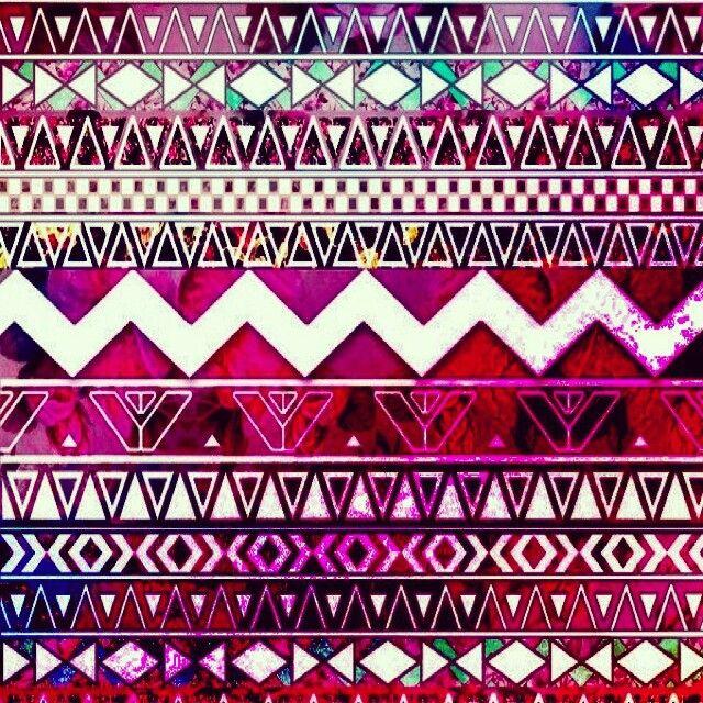 I ♥ tribal prints | Wallpaper iphone boho, Niedliche ...