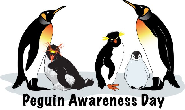 Celebrate World Penguin Day With This Great Clip Art: Penguin Awareness Day