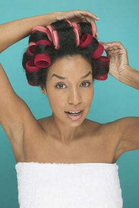 5 Benefits Of Roller Setting Instead Of Flat Ironing Your Hair http://www.blackhairinformation.com/hair-care-2/styling/5-benefits-roller-setting-instead-flat-ironing-hair/
