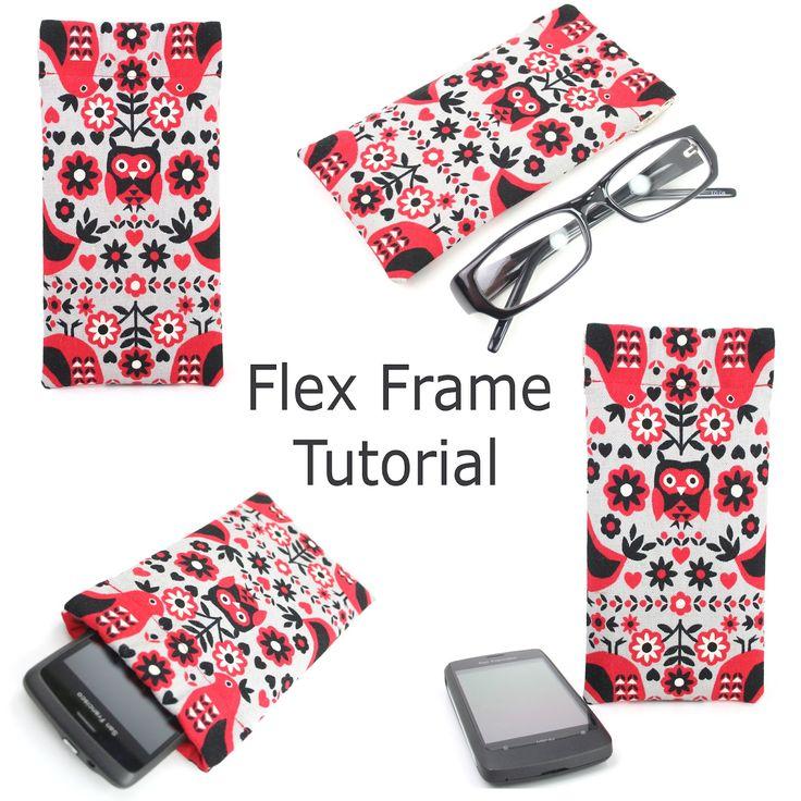 Handmade Flex Frame Pouch Tutorial || Sugar CaneDiy Tutorial, Zippers Pouch Tutorials, Hello Sugar, Flex Frames, Frames Pouch, Pu Leather, Handmade Flex, Bags, Sugar Canes