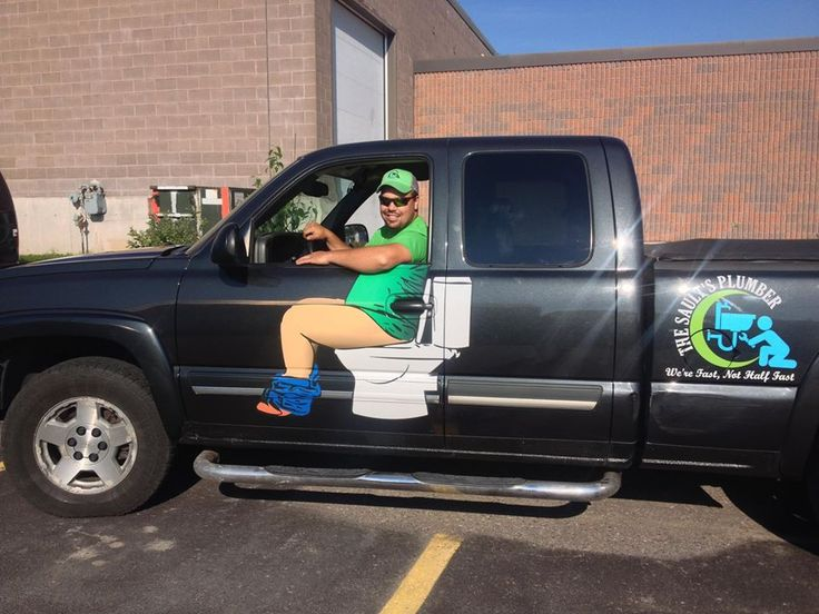 Plumbers Truck Logo Ontario This Is Funny JUST  LAUGHS - Truck decals