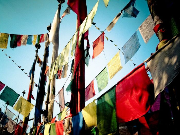 Swayambhunath, valle di Kathmandu