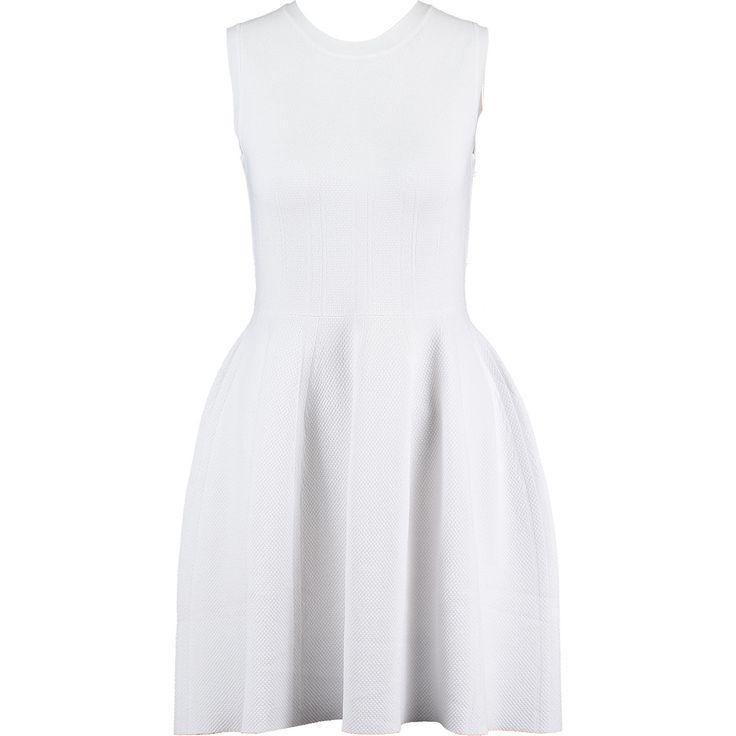 """Paraphrase"" White Skater Dress - TK Maxx"