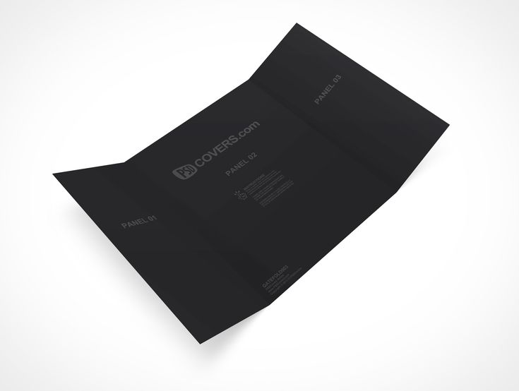 Gatefold Is A TriFold Gate Brochure That Measures Mm X