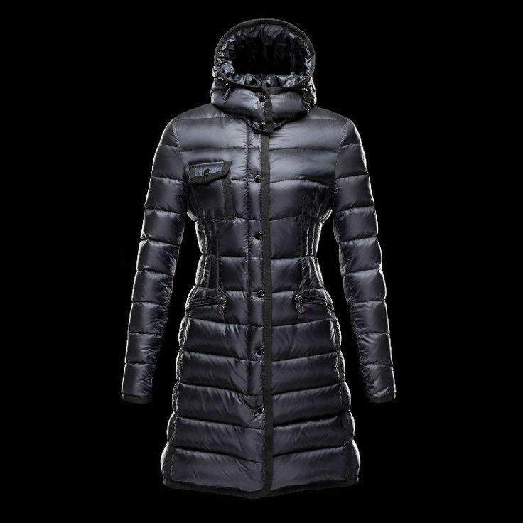 Moncler Coat For Women Black MC1341
