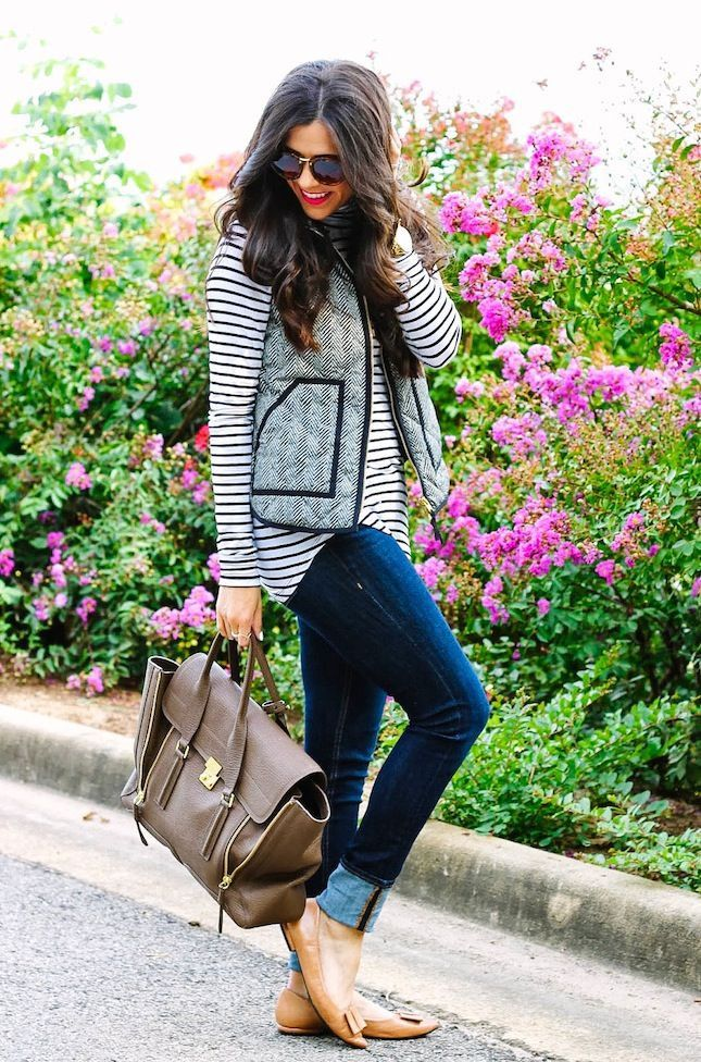 Love this vest so much!!!! Not sure if I would naturally mix those patterns but I like it !