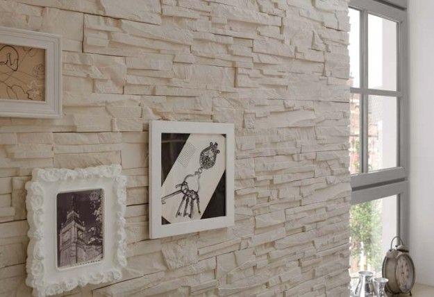 Oltre 25 fantastiche idee su muri in pietra su pinterest for Piastrelle effetto pietra leroy merlin