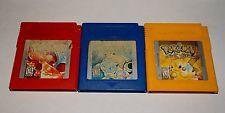 POKEMON RED BLUE YELLOW NINTENDO GAMEBOY GAME LOT - ALL SAVE  get it http://ift.tt/2bW8M1B pokemon pokemon go ash pikachu squirtle