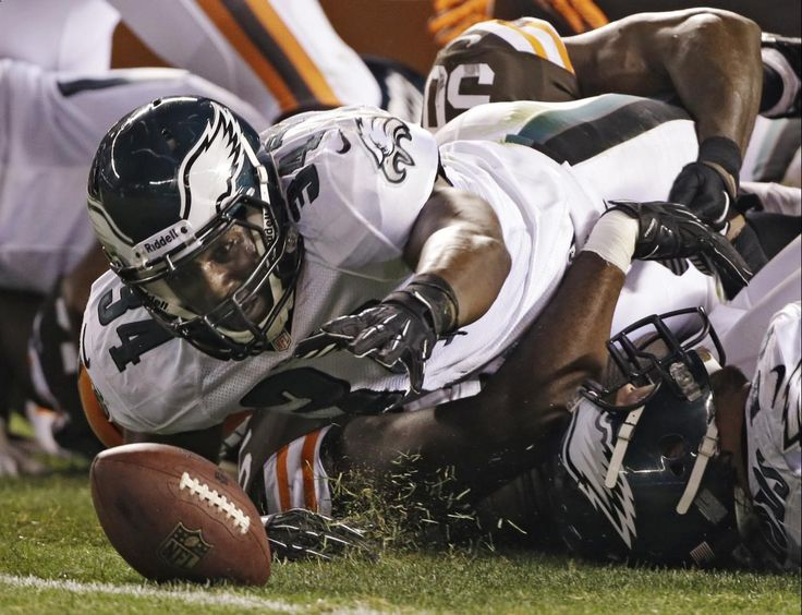 The regular season is upon us! But before we get to excited to place our NFL football betting. Let's take a look back at one key element we should know - Preaseson games. Check out this preseason photo of Philadelphia Eagles running back Bryce Brown (34) reaches as he recovers a fumble in the third quarter of an NFL preseason football game against the Cleveland Browns. The Eagles won 27-10. Visit: www.sportsbook.ag...