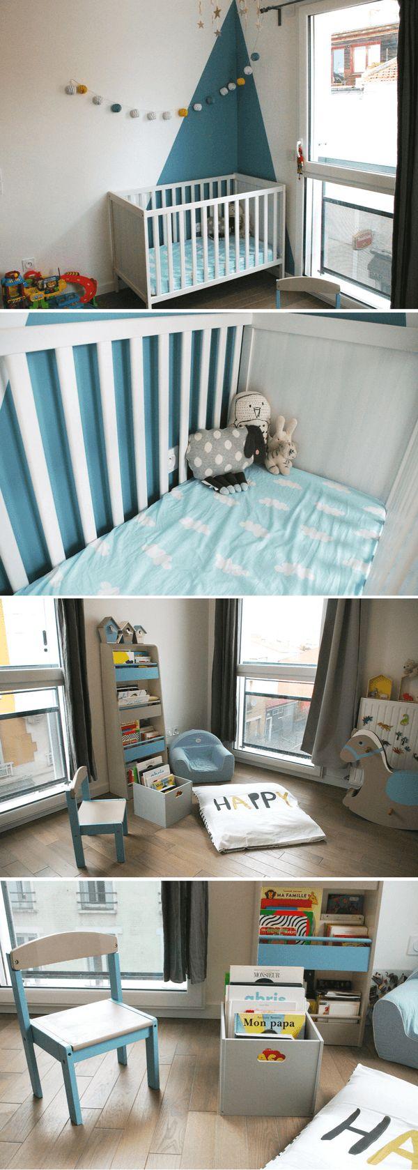 Conseil N°3 pour aménager et décorer la chambre des enfants : on organise l'espace selon les différentes fonctions et zones (sommeil, jeu, étude, rangement...)