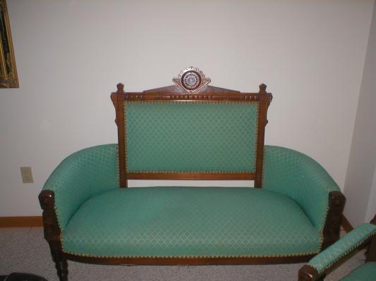 Eastlake Victorian Furniture ~ 3 Piece, Gentlemanu0027s Parlor Chair,,Ladies Parlor  Chair.