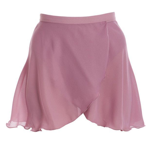 Wrap Skirt (222.435 IDR) ❤ liked on Polyvore featuring skirts, dance, bottoms, ballet, ballerina skirt, wrap skirt, ballet skirt, purple skirt and ballet wrap skirt