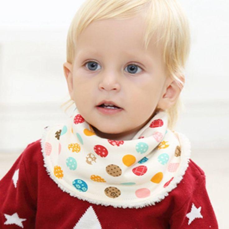 Хлопок, Бархат Детские Нагрудники Дети Ребенок Шарф Дети Воротник Babador Бандана Нагрудники Новорожденных Девочек Банданы Ткань Одежда для Новорожденных Аксессуары купить на AliExpress