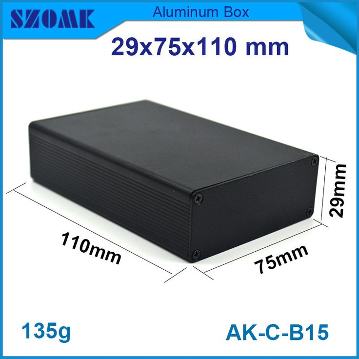 $5.37 (Buy here: https://alitems.com/g/1e8d114494ebda23ff8b16525dc3e8/?i=5&ulp=https%3A%2F%2Fwww.aliexpress.com%2Fitem%2F1-piece-black-aluminum-profiles-with-smooth-surface-powder-coating-switch-box-29-75-110mm%2F32557073847.html ) 1 piece black aluminum profiles with smooth surface powder coating switch box 29*75*110mm for just $5.37