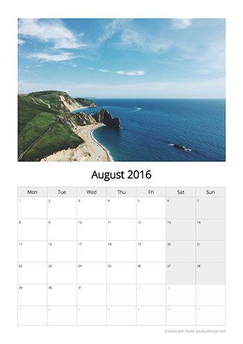 Calendar Design Template Classic