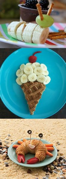 Breakfast ideas for kids but I would eat this any day.
