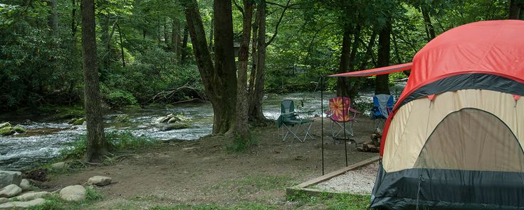 Bryson City Campgrounds - Smokey Mountains - Private Western North Carolina Campgrounds
