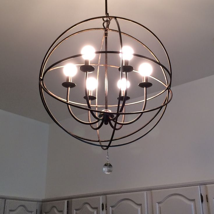 Librarian Tells All: The Orb Chandelier from Ballard Designs