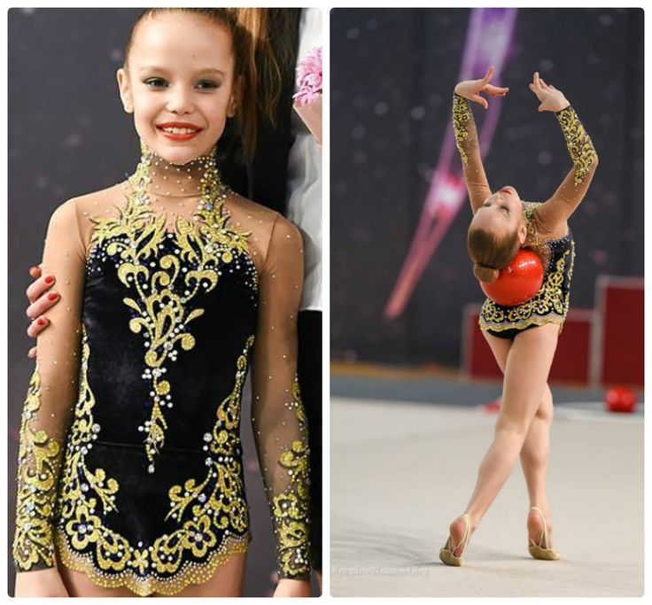 Rhythmic gymnastics leotard (photos by Oleg Naumov)