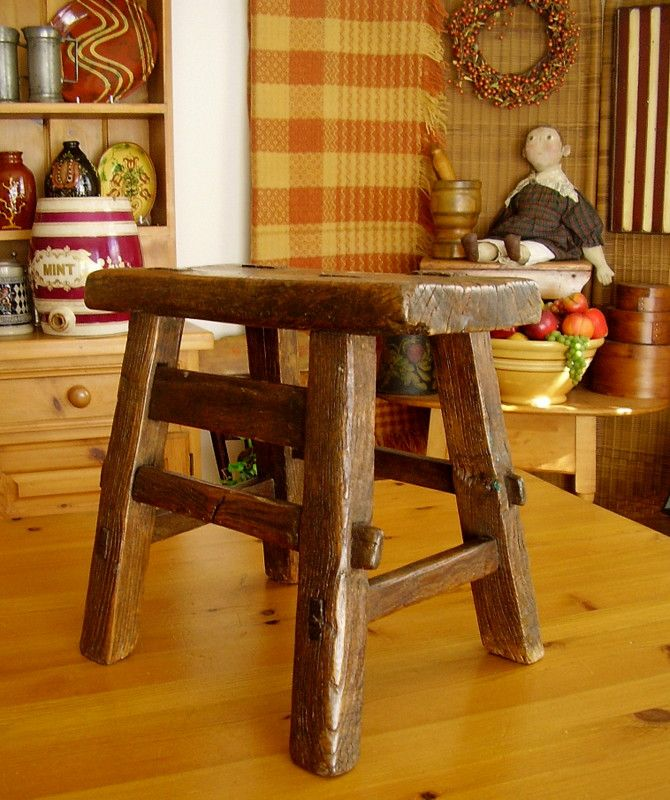 262 Best Old Stools & Benches Images On Pinterest