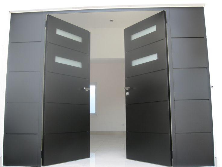Porton pta herreria portones pinterest portal for Portones metalicos modernos