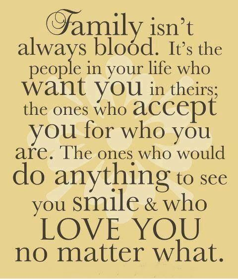 I couldn't agree with this more. Being in the Army has definitely expanded the size of my family!