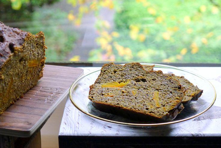 Glutenvrije herfst! Pompoen speculaas cake, gemaakt met o.a. hennepmeel. Recept in de gastblog van Con-serveert op hennepweb.nl ~ lekker, makkelijk, koolhydraatarm ~ www.con-serveert.nl