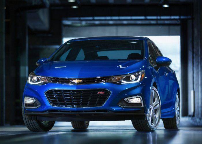Chevrolet presentó el nuevo Cruze 2016 que incluye soporte para Android Auto y Apple CarPlay