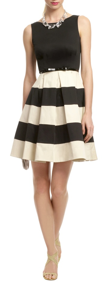 Classy - reminds me of Audrey Hepburn style. Dress by Kate Spade