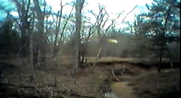 M.K. Davis Releases Video Of Bigfoot Throwing A Bottle And Making Vocalization