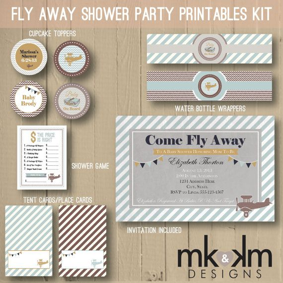 52 best images about andrea's shower on pinterest | vintage, Baby shower invitations