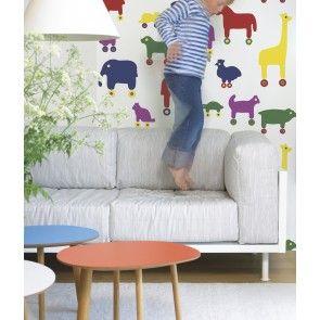 Marimekko - Hooked on Walls - 17990 bij de leukste behangwebshop van Nederland! www.nubehangen.nl