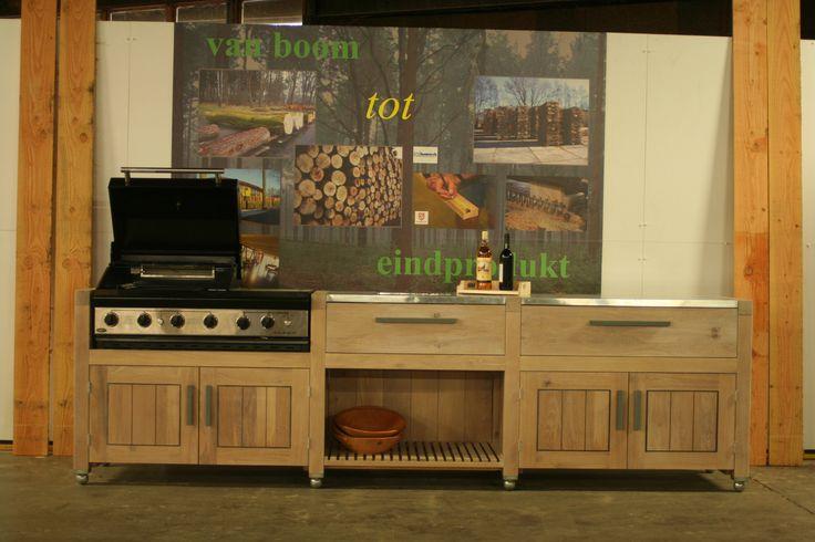 Keuken voor buiten | Houtwerk Hattem