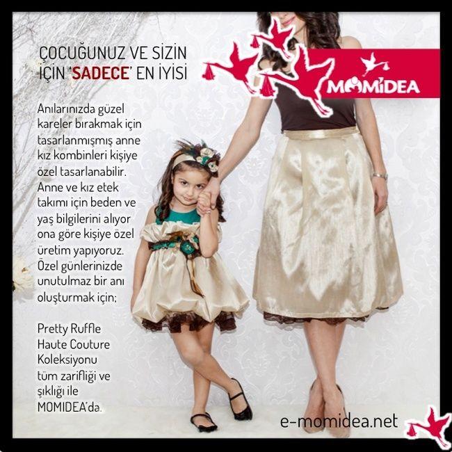 Pretty Ruffle Haute Couture Momidea'da.. #prettyruffle #momidea
