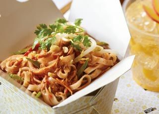 Spicy Tuna Pad Thai from Clover Leaf Seafoods
