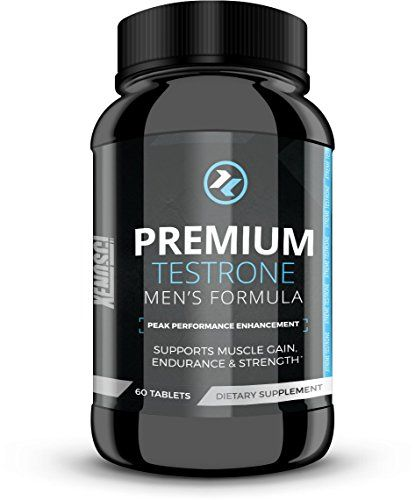 Premium Testrone Herbal Testosterone Boost Proprietary Mens Formula Dietary Supplement Supports Weight Loss Muscle Gain Sexual Stamina Endurance and Strength Made in USA 60 Day Supply ** Visit the image link more details. Note:It is affiliate link to Amazon.