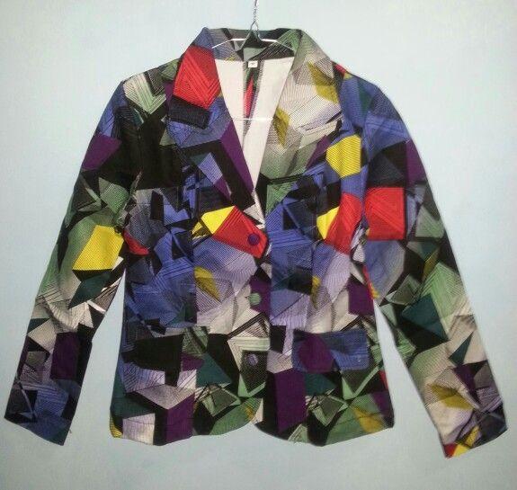 Polychrome blazer