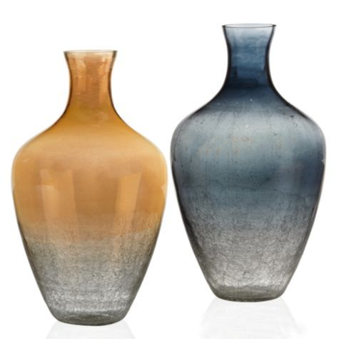 Love The Colors Of These Vesta Vases Horchow Home