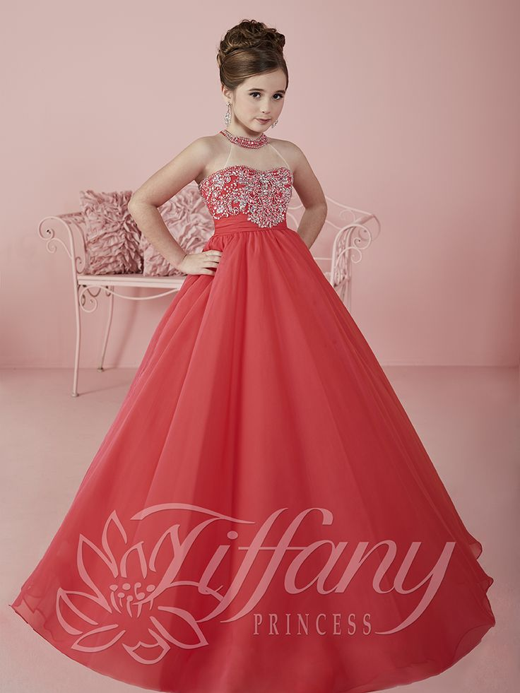 Flower Girl Vestido #13475 Lovely flower girls from tiffany collection…