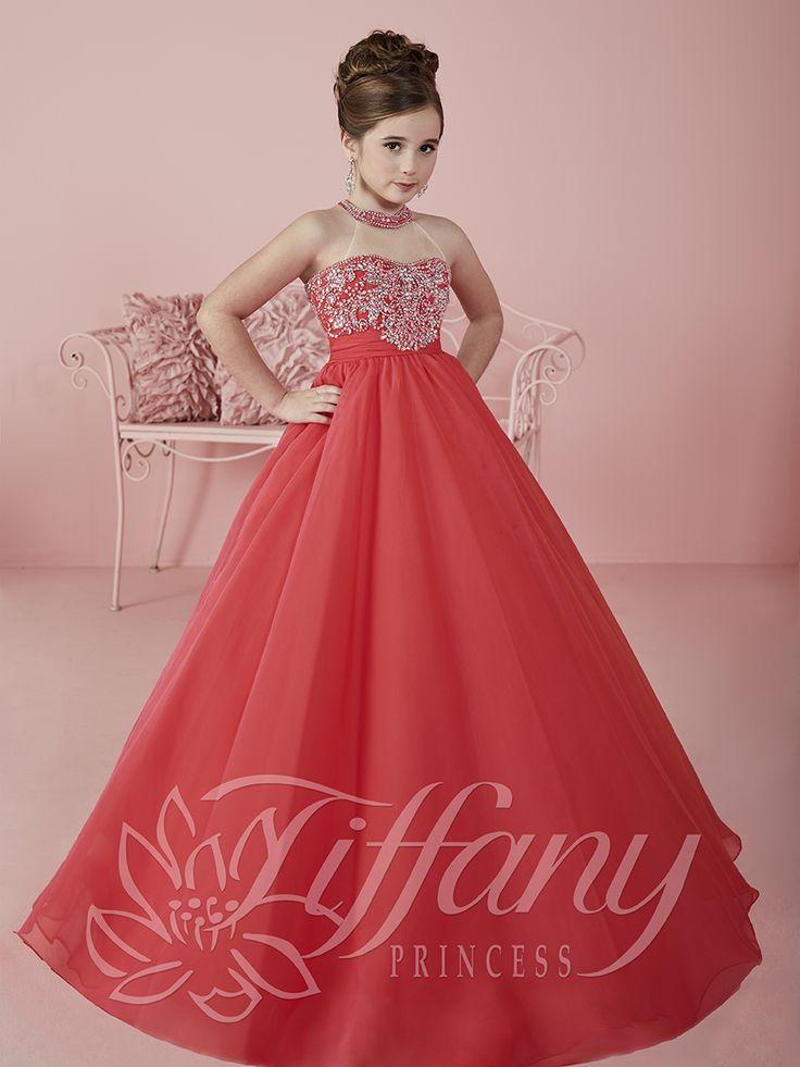 Flower Girl Vestido #13475 Lovely flower girls from tiffany collection…