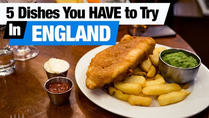 British Food Tour - 5 Dishes You HAVE to Try in England! (Americans try ...