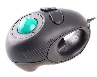 Black Fingermouse Trackball Mouse