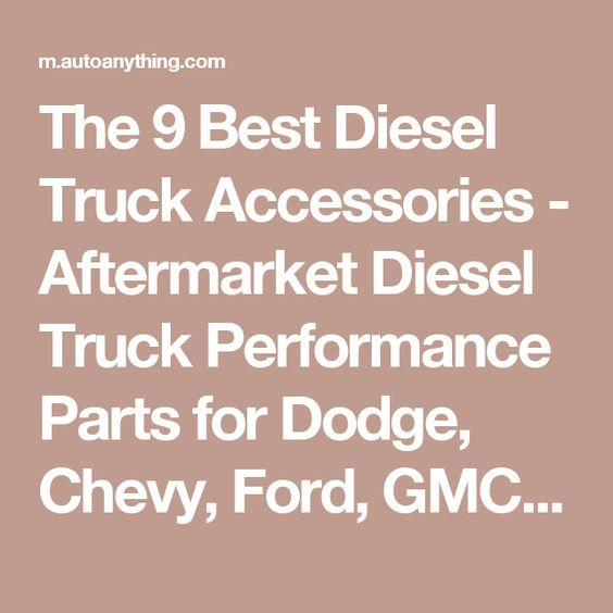 best aftermarket oakley replacement lenses ciic  The 9 Best Diesel Truck Accessories