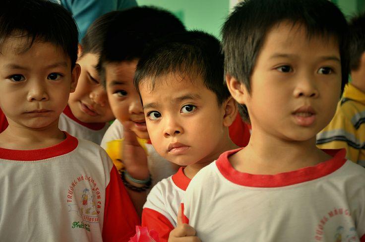Hello shy boy #VietnamSchoolTours