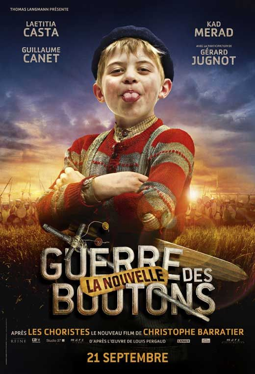 War of the Buttons (French) 27x40 Movie Poster (2012)