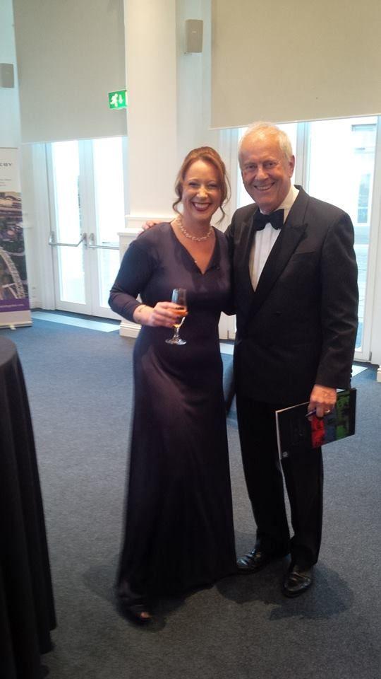 Gyles Brandreth and moi IOD awards 2016