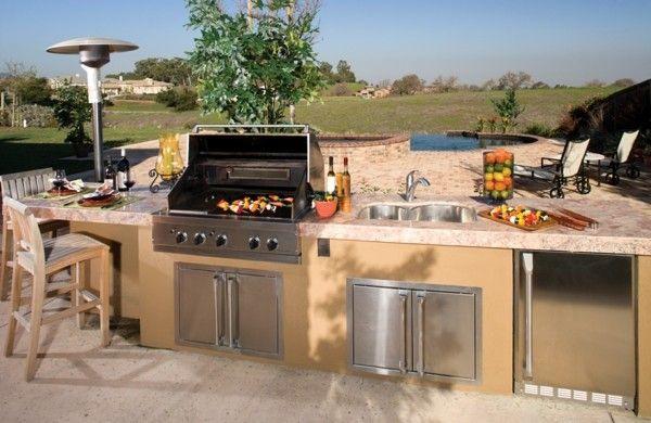 Outdoor Küche Gartenküche : ▷ ideen für outdoor küche einrichtung und gestaltung