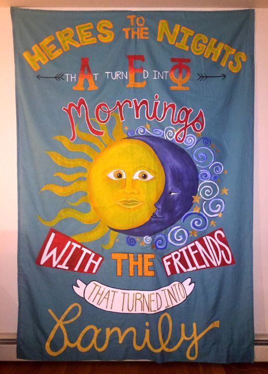 Alpha Epsilon Phi - banner BLISS!
