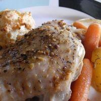 Roast Crockpot Turkey Thighs Recipe